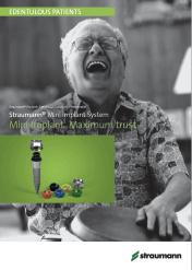 Straumann Mini-Implantaadid kataloog (EN) 2019-2020